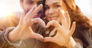 Jackson Hole counseling shows Couples Counseling image with couple forming heart with hands